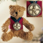 Avon Commemorative Bear Ornament