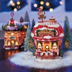 North Pole Lighted Grandma Bakery