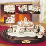 Holiday Express Porcelain Train - North Pole