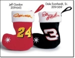 Speed Beans Nascar Mini Stockings Ornaments