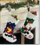Christmas Stockings And Petwer Holders