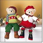 Charming Carolers Avon Exclusive Bear