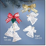 Crocheted Lace Ornaments