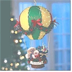 Santa Fiber Optic Balloon