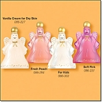 Set Of 4-holiday Angel Decanter Bubble Bath
