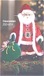 Dazzling Fiber Optic Santa - Caucasian