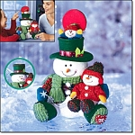 Snowman Surprise - Plush - New