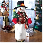 Snowman Bottle Cover - New