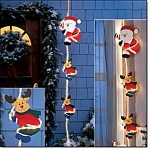 Santa And Friends Lighted Accent - New