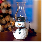 Snowman Tealight Lantern - New