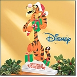 Tigger Christmas Tin Decoration