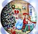 2009 Avon Christmas Plate A Gift To Remember