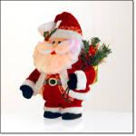Dazzling Holiday Santa Claus