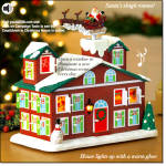 Countdown To Christmas House