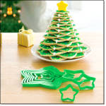 Christmas Tree Cookie Forms