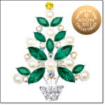 2011 Avon Christmas Tree Pin