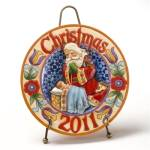 Jim Shore 2011 Christmas Plate