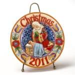Jim Shore 2011 Christmas Plate
