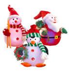 Light-up Pals - Snowman, Penguin, Santa