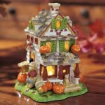 Luminous Treasures Glow Tealight House