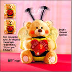 Musical Light-up Bumble Bear