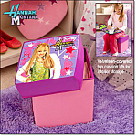 Hannah Montana Sit And Store Ottoman