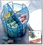 Vitamin And Medication Dispenser