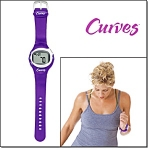 Curves Heart Rate Monitor Watch