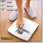 Thinner Body Fat And Hydration Scale