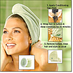 Condiitioning Hair Wrap And Mask - New