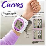 Curves Talking Blood Pressure Monitor