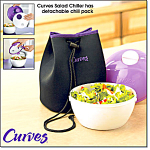 Curves Lunch-to-go Bag And Chiller Set