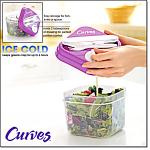 Curves Salad Shaker