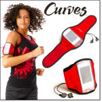 Curves Arm Band