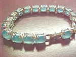Avon Cat's Eye Birthstone Color Bracelet Mar