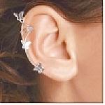 Sterling Silver Butterfly Ear Cuff-right