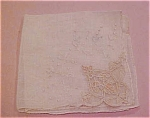 Handkerchief With Lace Trim