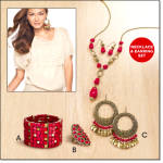 7-pc Coralesque Jewelry Collection
