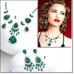 Hollywood Glamour Jewelry Collection - 3pc