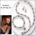 4 Pc Sweet Pearlesque Jewelry Collection