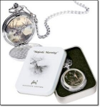 Eagle Pocket Watch In Keepsake Tin - New