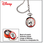 Mickey Mouse Collectible Pocket Watch