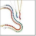 Believe In Love Ombre Pendant Necklace