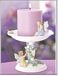 Avon Fairy Candle And Holder