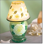 Gardenia Scented Lamp Jar Candle -new
