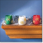 Sparkling Snowflakes Icy Lights - Candles