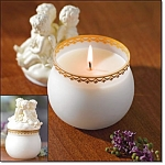 Cherub Candle Jar - New
