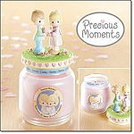 Precious Moments Candle Jar