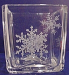 1984 Crystal Avon Candle Holder