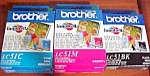 5 Boxes - Brothers Ink Cartridges - Lc51